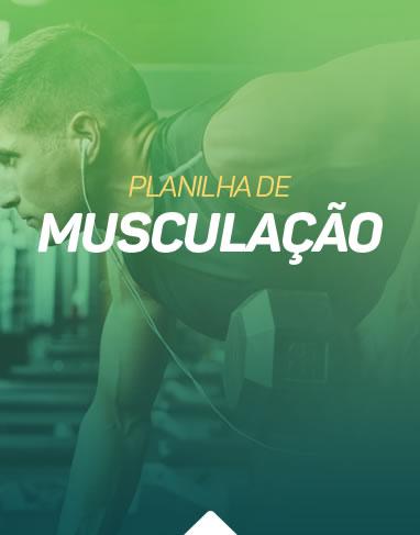 Personal Run - Planilha de musculação